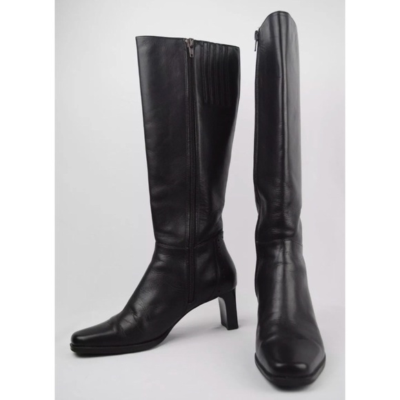Sudini Women s Dark Brwon Knee High Boots 17af9085cb